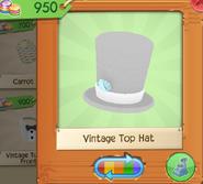 Vintage Top Hat White (4)