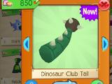 Dinosaur Club Tail