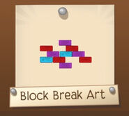 Block Break Wall Art