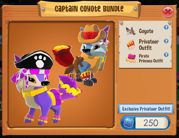 Captain Coyote Bundle   Play Wild Wiki   FANDOM powered by Wikia