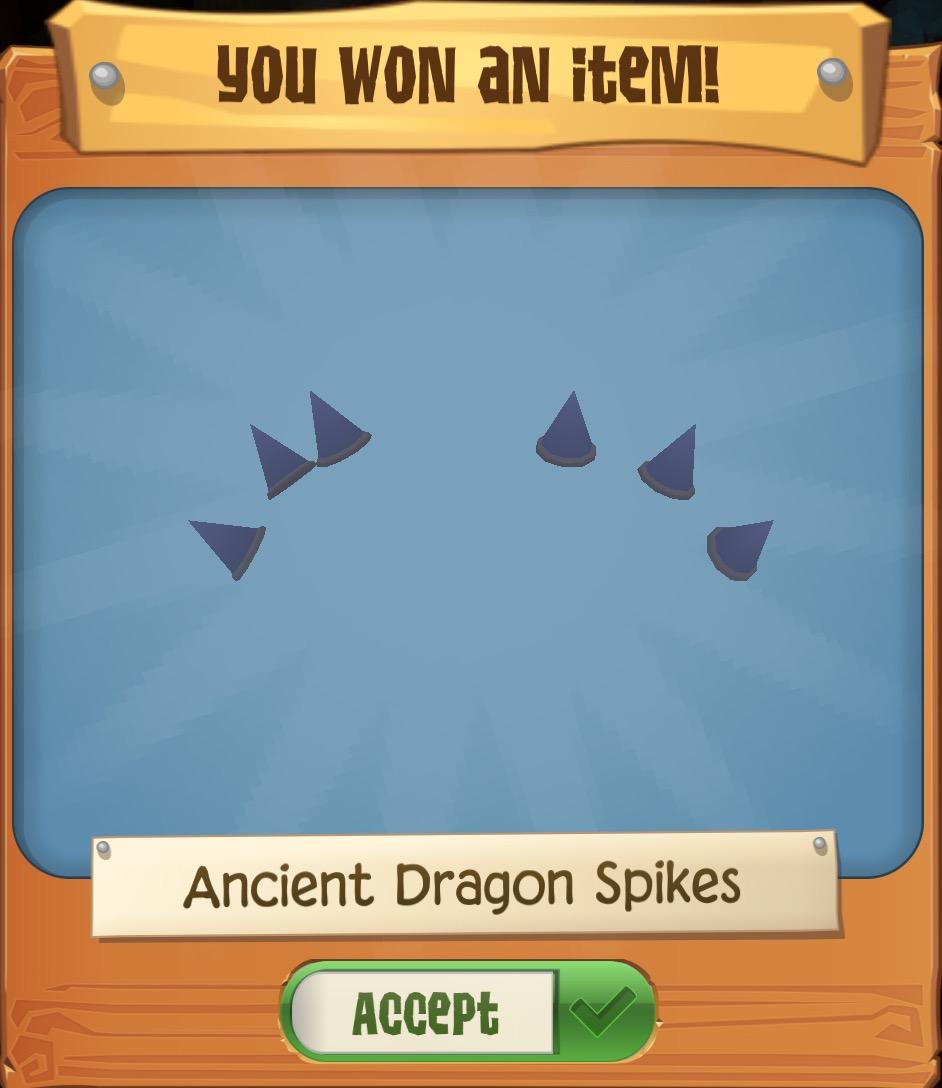 Ancient Dragon Spikes | Play Wild Wiki | FANDOM powered by Wikia
