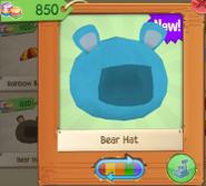 Bear hat 3
