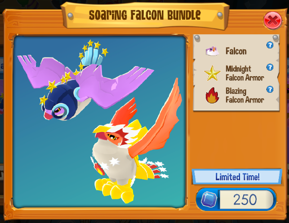Soaring Falcon Bundle | Play Wild Wiki | FANDOM powered by Wikia