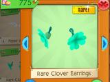 Rare Clover Earrings