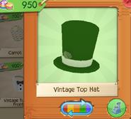 Vintage Top Hat Green (6)