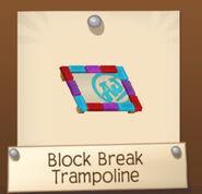 Block Break Trampoline