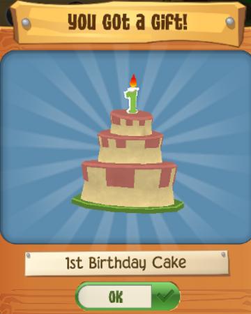 Groovy 1St Birthday Cake Play Wild Wiki Fandom Personalised Birthday Cards Veneteletsinfo
