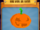 Round Spooky Pumpkin