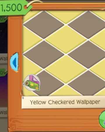 Yellow Checkered Wallpaper | Play Wild