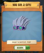 Mad scientist hair pack runs