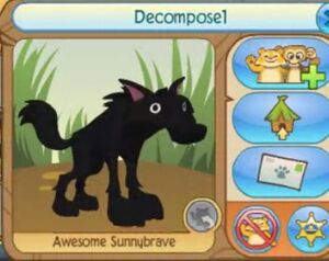 Animal Jam The Lost Jammer FMAN Decompose1