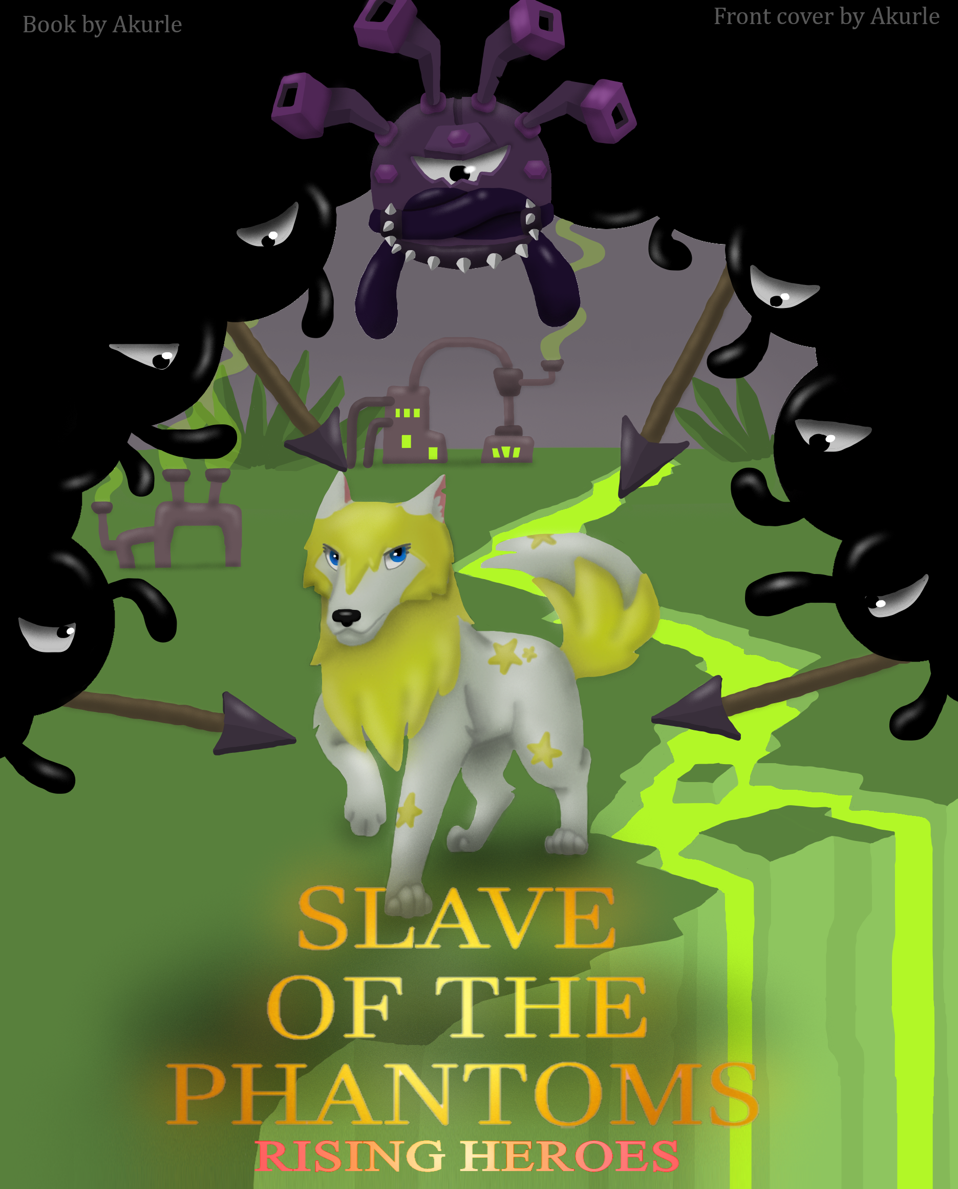 Image of: Phantom Plushies Slave Of The Phantoms Cover Art Fandom Slave Of The Phantoms Animal Jam Stories Wiki Fandom Powered By
