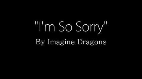 Imagine Dragons - I'm So Sorry (Lyrics)