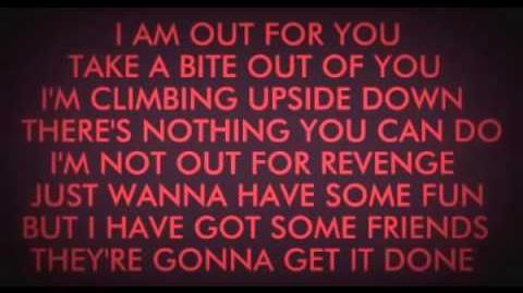The mangle song with lyrics (la canción de mangle)