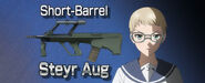 Anime upotte Steyr AUG short barrel