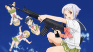 Anime upotte title card L85 M16 SIGSG550 FN FNC