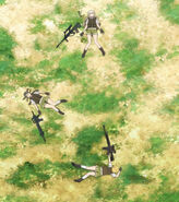 Anime upotte M16 Steyr AUG Tei T91