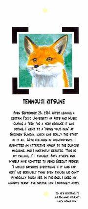 Manga kitsune tennouji short bio from edens bowy