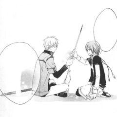 Shirayuki tells Zen she will handle the threat herself.