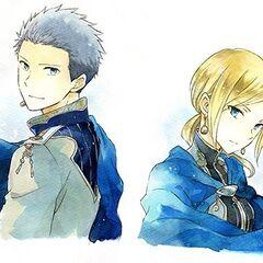 Kiki and Mitsuhide from Volume 17