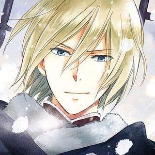 Izana on a manga cover.