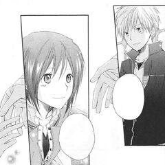 Zen invites Shirayuki to find her own fate.