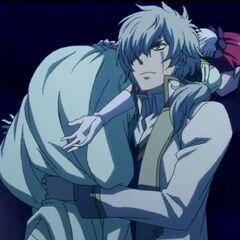 Shirayuki being kidnapped.