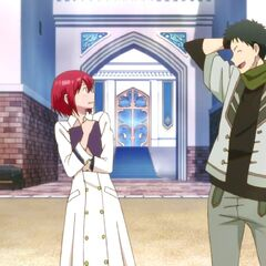 Obi tells Shirayuki he will find out what happened between her and Zen.