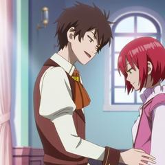 Raji tries to seduce Shirayuki.