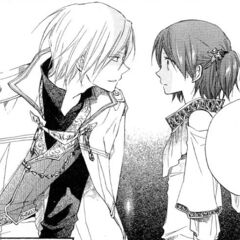 Izana examines Shirayuki.