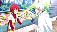 Zen and Shirayuki Begin Their Relationship S1E11