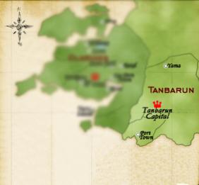Tanbarun map