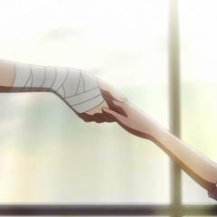 Shirayuki accepts Zen's offer.