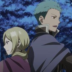 Mitsuhide and Kiki's teamwork.
