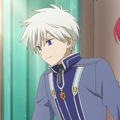 Zen and Shirayuki talk to the soldiers.