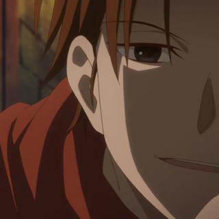 Mihaya trying to intimidate Shirayuki