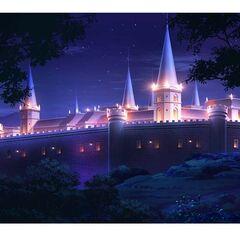Wistal Palace at night