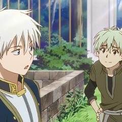 Atori teasing Zen about having an attendant.