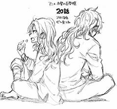 Kazuki & Itoya sketch