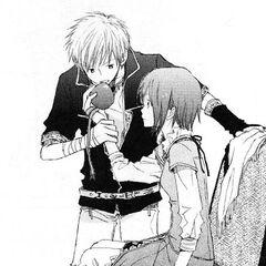 Zen eats out of Shirayuki's hand.