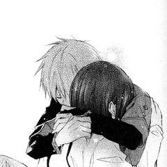 Zen holds Shirayuki to comfort her.