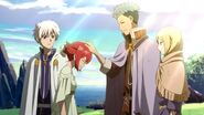Shirayuki officially reunites with Mitsuhide and Kiki