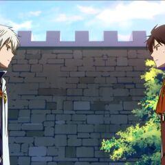 Zen and Raji agree to work together to save Shirayuki.