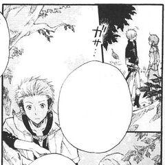 Mitsuhide and Kiki watch over Zen.