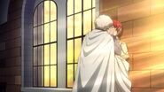 Zen kissing Shirayuki S1E11