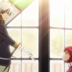Zen offers Shirayuki a new path.