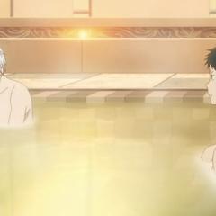 Zen and Obi in the bath