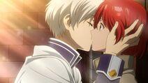 Zen and Shirayuki's First Kiss