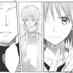 Shirayuki calls Haruka's bluff and challenges his sword.