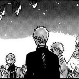 Knight and his close friends from Sereg talking with Sir Mitsuhide. (<a href=